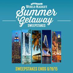 http://www.infinitesweeps.com/sweepstake/60719-World-Markets-Summer-Getaway-Sweepstakes.html