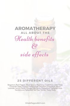 Aromatherapy – All about the health benefits & side effects 25 different oils explained: the uses, benefits, side effects & blending tips. + How to recognize quality essential oils & which brands are good? What Are Essential Oils, Doterra Essential Oils, Young Living Essential Oils, Oil Benefits, Health Benefits, Blue Tansy, Work From Home Tips, Side Effects, Good Things