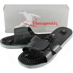 Therapeutix TENS Unit Electronic Massager Electrode Sandals