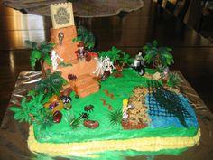 Lego Indiana Jones Cakes