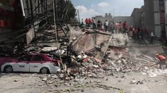 Rescuers tunneled through debris for hours Wednesday, listening for the breathing and cries of survivors after a deadly earthquake struck Mexico City and the region.