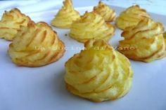patate duchessa ricetta con foto passo passo, ricetta facile da fare e molto appetitosa per ottimo contorno per secondi di carne o pesce. ricetta finger food