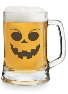 Our personalized Halloween German Tankard is perfect for celebrating Halloween with your favorite brews. Choose one of our exclusive Halloween designs, and then engrave your monogram, name or initials on the back! https://www.thingsremembered.com/halloween-german-tankard/product/346133?fcref=pinterest