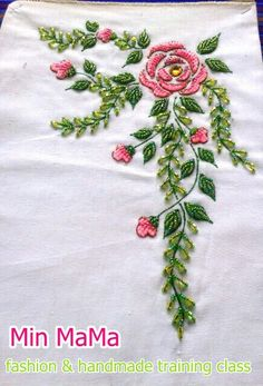 my creation bead embroidery design