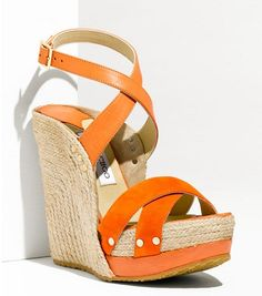 Jimmy Choo Perry Platform Sandal, USD550    Love these!!!      10 Espadrilles To Welcome Spring