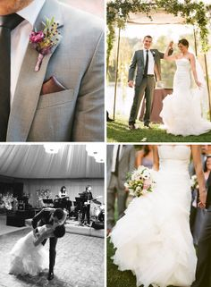 Gorgeous shots of the bride and groom's special day!