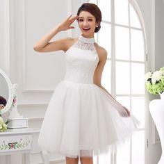 vestidos blancos cortos y elegantes - Buscar con Google