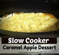 Caramel Apple Dessert MomsMustardSeeds.com