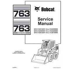 Download Bobcat 763, 763 HF G Series Service Manual PDF