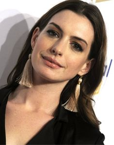 Anne Hathaway at the National Book Awards held at Cipriani Wall Street in New York on November 15, 2017