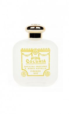 This unisex fragrance contains notes of citrus, begamot, white florals, & spices. // Cologne by Santa Maria Novella