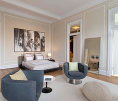 Historic Apartment Meets Modern Times in interior design architecture  Category