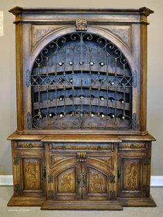 TUSCAN DECOR WINE THEME .....  I think my lil sister Peggie should replace her entertainment center with this  :-D