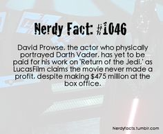 Nerdy Facts #1046: not paid yet