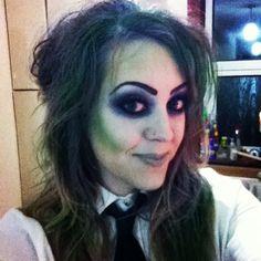 #halloween #beetlejuice #makeup