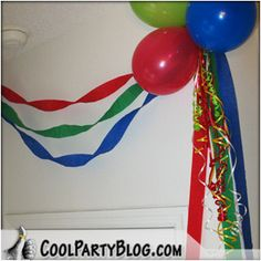 Simple Birthday Party Balloon Decorations