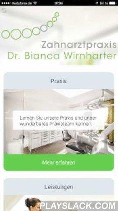 Wirnharter  Android App - playslack.com , Die App der Zahnarztpraxis Wirnharter in Amerdingen ist da.Highlights der App:• Lernen Sie unser Team kennen• Navigation zu unserer Praxis• umfangreiche Informationen über unsere Leistungen• Notdienst Pläne• Terminvereinbarung• und vieles mehr