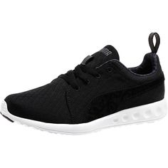 Puma Carson Runner Mono Paisley Women's Running Shoes ($65) ❤ liked on Polyvore featuring shoes, athletic shoes, cat footwear, puma footwear, cat shoes, lace up shoes and light weight shoes