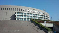 福岡ヤフオク!ドーム (Fukuoka Yafuoku! Dome) in 福岡市, 福岡県