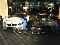 First 1-2 of the 2013 BMW Z4 in the American LeMans Series (Long Beach)