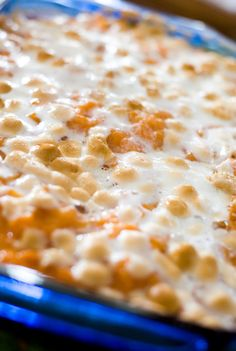 Sweet potato casserole for your holiday dinner table