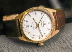 """Omega Globemaster Watch Team Review - by Matt Smith-Johnson - Come see what Matt and out team thought of the Globemaster at: aBlogtoWatch.com """"Those who know me know that I'm a big fan of Omega as a watch brand, so when I was asked to be one of the aBlogtoWatch team members who would test-drive an Omega Globemaster for a few months, I gladly accepted. I'm also keen on the bygone Omega Constellation models, so the Globemaster with its 'pie-pan dial' and 'C-shape case' was an intriguing…"""