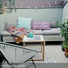 Refurbishing And Decoration Of A Small Terrace With A Low Budget  Dachterrasse, Balkon, Garten