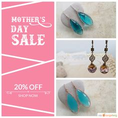 15% OFF on select products. Hurry, sale ending soon! Check out our discounted products now: https://orangetwig.com/shops/AAAkB9K/campaigns/AACkCjt?cb=2016004&sn=CeliaElizabethJewels&ch=pin&crid=AACkCi4&utm_source=Pinterest&utm_medium=Orangetwig_Marketing&utm_campaign=Mother's_Day_Special