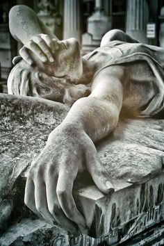 Fallen Angel - Staglieno, Monumental Cemetery of Genoa, Italy Cemetery Angels, Cemetery Statues, Cemetery Art, Angel Falls, Dark Fantasy Art, Oeuvre D'art, Drawing Reference, Les Oeuvres, Street Art