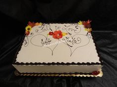 Fantastic Wedding Cake Frosting Thick Wedding Cakes Near Me Clean Wedding Cake Design Ideas Glass Wedding Cake Toppers Youthful Harley Davidson Wedding Cakes RedCake Stands For Wedding Cakes Fall Wedding Cakes | Fall Wedding Sheet Cake   By Corrie ..