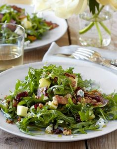 Barefoot Contessa Cape Cod Salad. The dressing sounds delicious with orange juice, cider vinegar, maple syrup, etc.