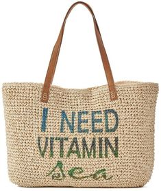 Need Vitamin Sea Tote Bag