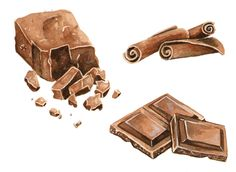 Chocolate, Commission by Alicia Severson Illustration and Design