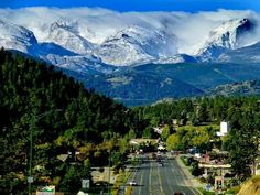 Estes park, CO  Favorite place to ditch high school or spend summer days. :-)