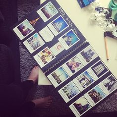 1000+ images about Polaroid albums on Pinterest