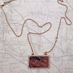 Map Necklace Style MAPN005 Locations hold such a strong place in our memories. This holiday season make your memorable moments into modern heirlooms exclusively on ajaffe.com