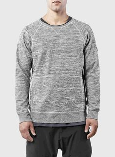 ISAORA | Space-dyed Crewneck Sweatshirt