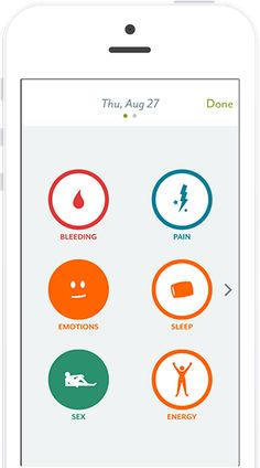 Clue App: Period and Ovulation Tracker for iPhone and Android