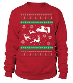 cc825fac19 Postal Workers Ugly Christmas Sweater D1 Christmas Shirts