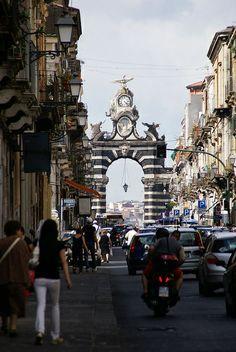 Catania, Via Garibaldi, Porta Garibaldi (Garibaldi Gate) | Flickr - Photo Sharing!