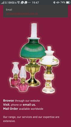 Lamps-kerose, restoration