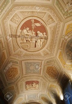 http://www.123rf.com/photo_37080017_ceiling-in-a-corridor-of-the-vatican-museums-rome-italy.html