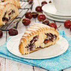 Fresh Cherry Scones {Sweet Pea's Kitchen}