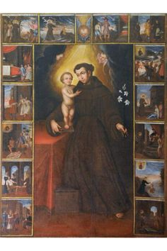 St Clare's, St Francis, Mary, Painting, Saints, Etchings, Lisbon, Mother Mary, Saint Anthony Of Padua