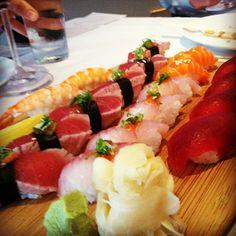 Sushi Sasa in Denver, CO. Tonight! Lucky me :) round 2