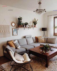 Boho Living Room, Cozy Living Rooms, Apartment Living, Apartment Furniture, Bohemian Living, Living Room Ideas Small Apartment, Living Room Ideas On A Budget, Earthy Living Room, Bohemian Homes
