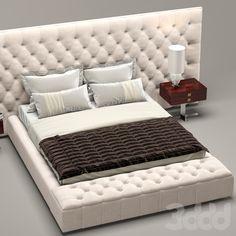 3d модели: Кровати - Кровать Napaleon, Longhi