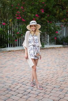 Little Blonde Book by Taylor Morgan | A Life and Style Blog : Floral Romper