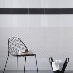 Carrelage clipsable mat marron 45x45 cm ea1002005 for Bordure carrelage mural