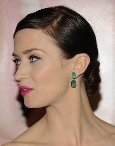 Emily Blunt #casamento #acessórios #brincos #noiva